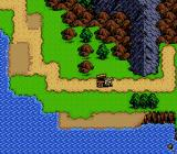 Shining Force Genesis On the world map