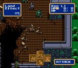 Shining Force Genesis Battle