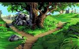 King's Quest VI: Heir Today, Gone Tomorrow Amiga A fork in the road.