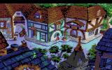 King's Quest V: Absence Makes the Heart Go Yonder! Amiga In a village.