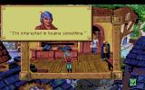 King's Quest V: Absence Makes the Heart Go Yonder! Amiga In the tailor's shop.