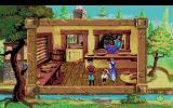 King's Quest V: Absence Makes the Heart Go Yonder! Amiga Inside the bakery.
