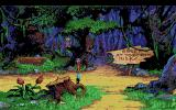 King's Quest V: Absence Makes the Heart Go Yonder! Amiga That sign means what it says.