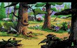 King's Quest V: Absence Makes the Heart Go Yonder! Amiga What's that young man upset about?