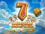 7 Wonders: Treasures of Seven Windows Main menu
