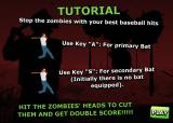 Zombie Baseball Browser The controls