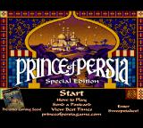Prince of Persia: Special Edition Browser Start menu