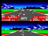 GP Rider SEGA Master System Wayne has fought his way to 4th while I am still battling in 9th.