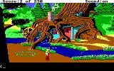 King's Quest IV: The Perils of Rosella DOS AGI: A tree house.