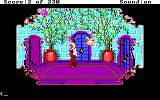 King's Quest IV: The Perils of Rosella DOS AGI: Inside of Genesta's palace.