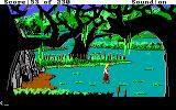 King's Quest IV: The Perils of Rosella DOS AGI: A swamp.