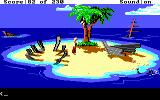 King's Quest IV: The Perils of Rosella DOS AGI: On a small island.