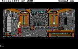 King's Quest IV: The Perils of Rosella DOS AGI: A kitchen inside of Lolotte's castle.