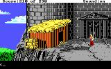 King's Quest IV: The Perils of Rosella DOS AGI: Outside of Lolotte's castle.