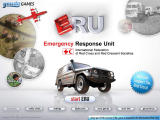 ERU: Emergency Response Unit Browser Main menu