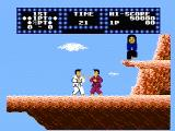 Karate Champ NES Starting a fight