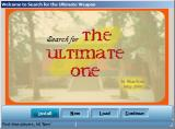 Search for the Ultimate Weapon Windows Splash screen