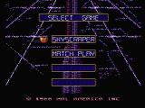 Rollerball NES Choose a game