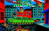 Heavy Metal Amstrad CPC Title Screen