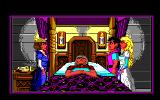 King's Quest IV: The Perils of Rosella Amiga Intro: King Graham is gravely ill.