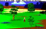 King's Quest IV: The Perils of Rosella Amiga Walking along the countryside of Tamir.