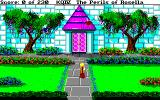 King's Quest IV: The Perils of Rosella Amiga Outside of Genesta's palace.