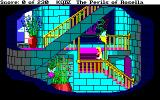 King's Quest IV: The Perils of Rosella Amiga A stairway in Genesta's palace.