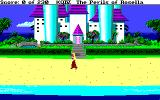 King's Quest IV: The Perils of Rosella Amiga On the beach near Genesta's palace.