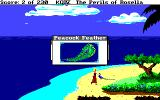 King's Quest IV: The Perils of Rosella Amiga I found a feather!