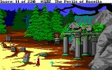 King's Quest IV: The Perils of Rosella Amiga More of the graveyard.