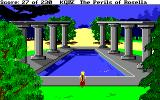 King's Quest IV: The Perils of Rosella Amiga A pool with pillars.