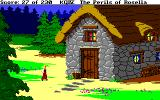 King's Quest IV: The Perils of Rosella Amiga Outside the orge's home.