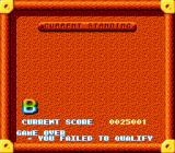 The Super Aquatic Games SNES Current standing