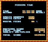 The Super Aquatic Games SNES Feeding time results