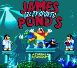 The Super Aquatic Games SNES Title screen (European version)