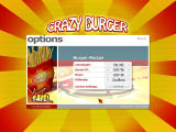 Crazy Burger Windows Options