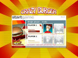 Crazy Burger Windows Player select and name entry