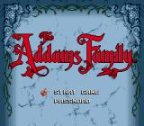 The Addams Family Genesis Title