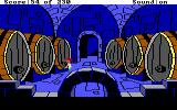 The Black Cauldron DOS The castle's wine cellar.