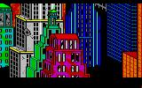Manhunter: New York Amiga Intro: New York looks a little worse for the wear after the Orbs invaded...