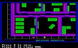 Manhunter: New York Amiga A close up map of New York.
