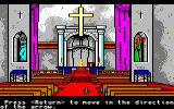 Manhunter: New York Amiga Inside the church.