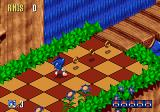 Sonic 3D Blast Genesis Starting the game