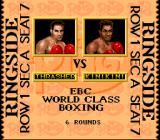 Boxing Legends of the Ring SNES Pre-Match graphic