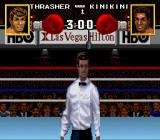 Boxing Legends of the Ring SNES The referee at the beginning of the match