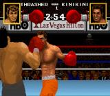 Boxing Legends of the Ring SNES Taking a punch.