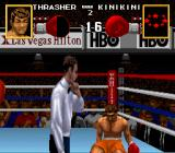 Boxing Legends of the Ring SNES Attempting to get up after KO.