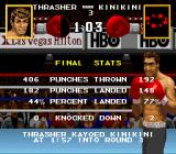 Boxing Legends of the Ring SNES Final fight results