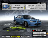 Need for Speed: ProStreet Windows Buying cars.