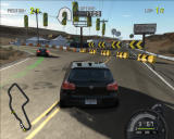 Need for Speed: ProStreet Windows Tight turn left.